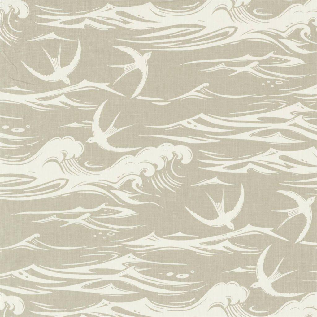 SANDERSON SWALLOWS AT SEA LINEN 226742 DNTF226742