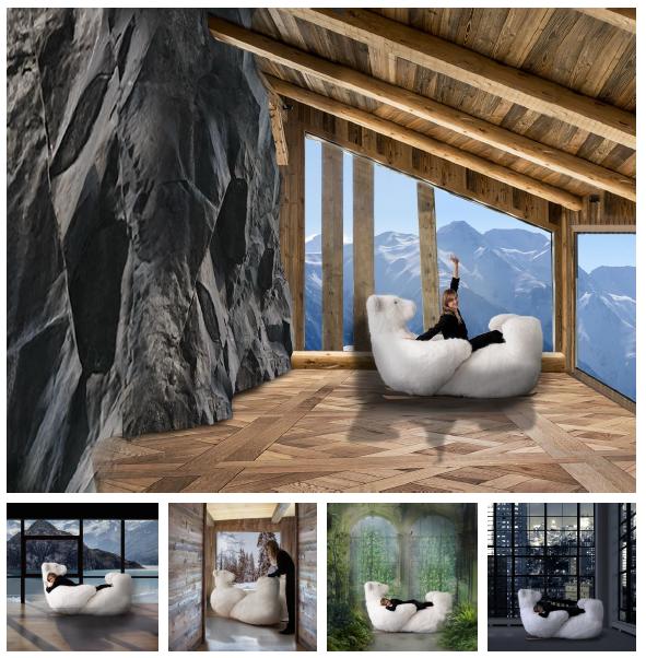 Icebearg, pour la montagne, mais aussi pour tous les intérieurs spacieux