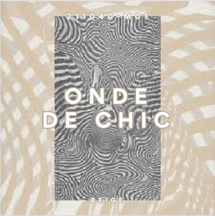 HERMES TISSU ONDE DE CHIC BEIGE
