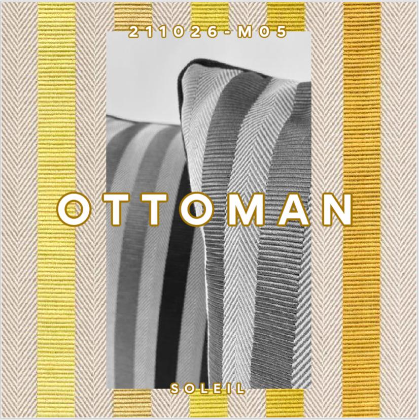 HERMES TISSU OTTOMAN SOLEIL