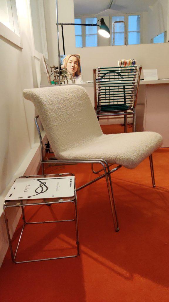 fauteuil bouclette